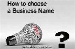 Your name should explain exactly what your Business does Or 100% the opposite