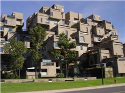 Habitat 67 in Montreal Canada