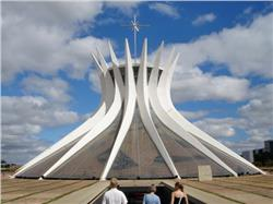 Cathedral of Brasilia  in the capital of Brazil