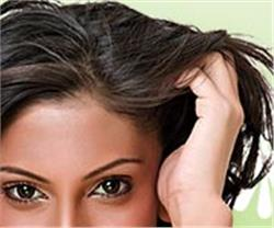 Make paste of amla with water and apply to the hair