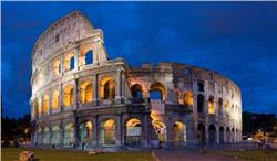 Colosseum in Rome Italy : the largest amphitheatre in the world