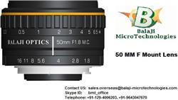 35 MM & 50 MM F MOUNT MACHINE VISION LENSES